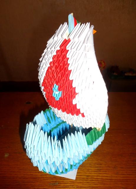 """городской этап республиканского конкурса """"Мир оригами"""""""